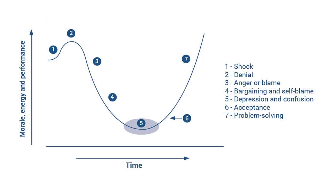 the change curve diagram