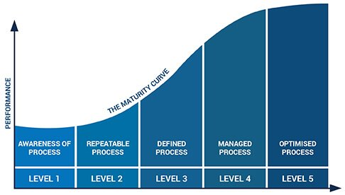 P3M3 Maturity curve graph
