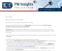 PM Insights. May 2016